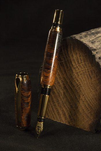 York Minster Oak Fountain Pen